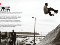 Donny Barley wrócił do Elelemnt Skateboards