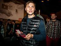 Andrzej Bargiel po wręczeniu Złotego Krzyża