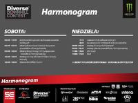 Diverse Downhill Contest: 2016 Żar - harmonogram