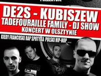Koncert Kubiszew & De2s + Guests