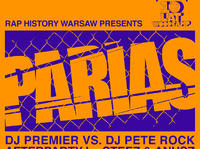 RHW x PARIAS x Premier vs. Pete Rock by Steez & Anusz + 10 urodziny Woodcampu