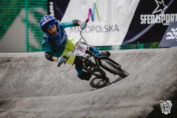 Rogowiec Kajetan z GoBike.Pro Rybnik w akcji (foto Adam Glosowic)
