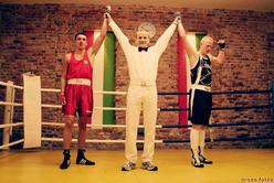 Remis w finałowej walce pokazowego meczu bokserskiego