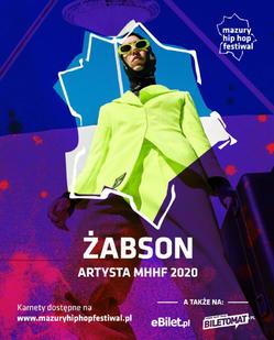 ŻABSON NA XIX-TEJ EDYCJI MAZURY HIP HOP FESTIWALU 2020