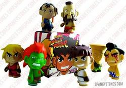 kidrobot + Capcom Street Fighter Mini-Series