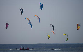 ION KIte Challenge- zakończono zawody o PP i MP w kitesurfingu