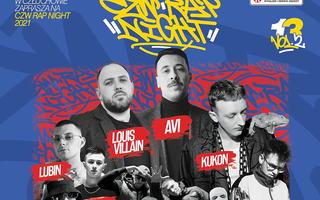 Avi & Louis Villain czy Kukon zagrają na CZW Rap Night 2021