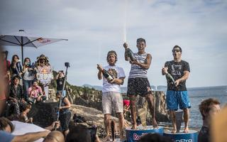Hunt Mistrzem Red Bull Cliff Diving pomimo 3 miejsca w Japonii