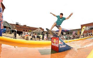 Dawid Pruski mistrzem 7. edycji Red Bull Skim It!