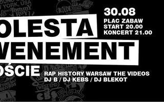 30.08 Warszawa: MOLESTA EWENEMENT + goście na Placu Zabaw / The Videos Block Party