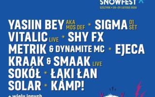 Sokół i Vitalic kolejnymi headlinerami SnowFest Festival 2020