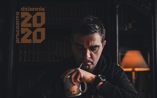 "Proceente ""Dziennik 2020"" - front okładki"