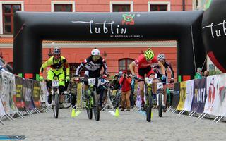 Sprinterskie zmagania kolarzy w Lublinie