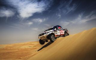 Drugi etap Abu Dhabi Desert Challenge