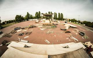 Baltic Games - zdjęcia z budowy skateparku i promo video