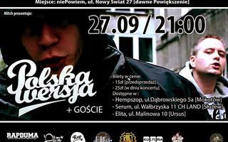 27.09.2014 Warszawa / Polska Wersja + Goście