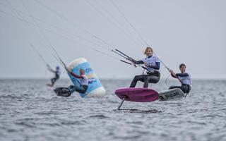 Trwa finał Pucharu Polski i Mistrzostwa Polski w kitesurfingu