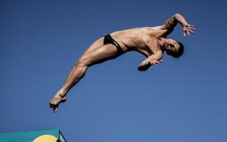 Siódmy przystanek Red Bull Cliff Diving na moście w Mostarze