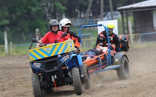Nie tylko quad, czyli o nowych rozwiązaniach zabezpieczenia medycznego w Motocrossie