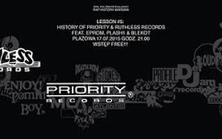 17.07 Warszawa: Rap History Warsaw presents Priority & Ruthless Records ft. Eprom, Plash & Blekot